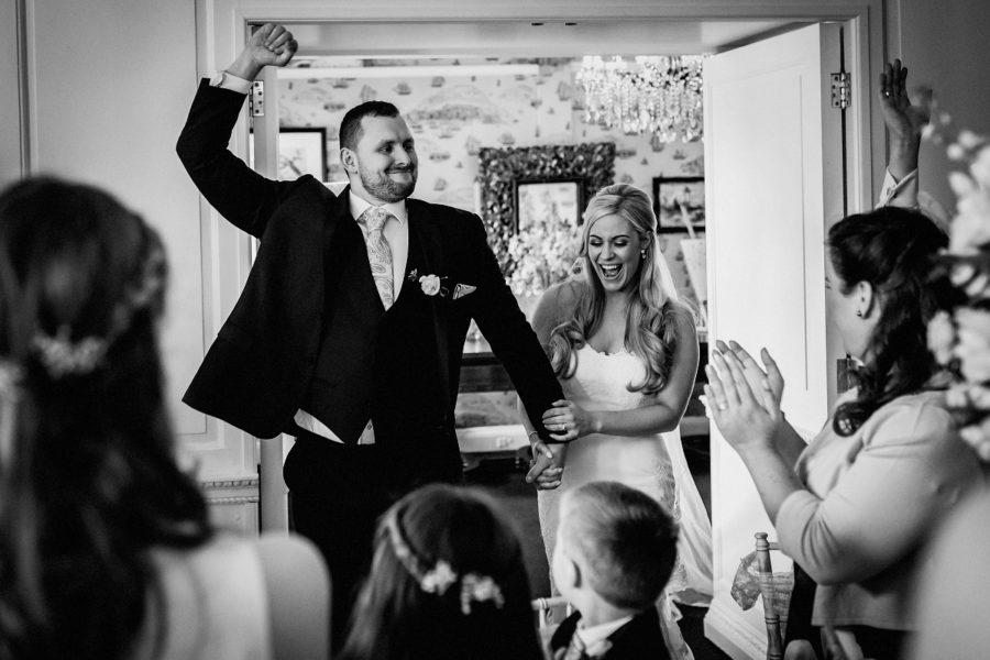 Eaves Hall Wedding Photography – Alex & Chris