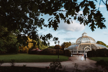 Sefton Palm House Wedding Photography in Liverpool