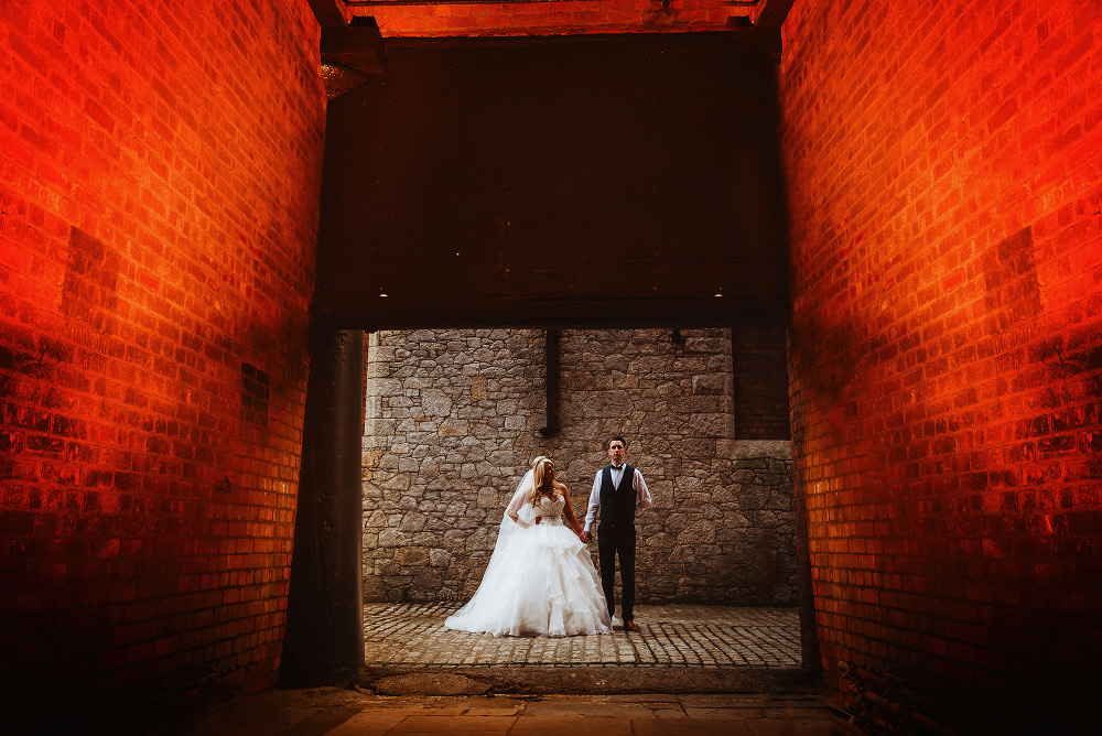 Titanic Hotel Liverpool Wedding Photography